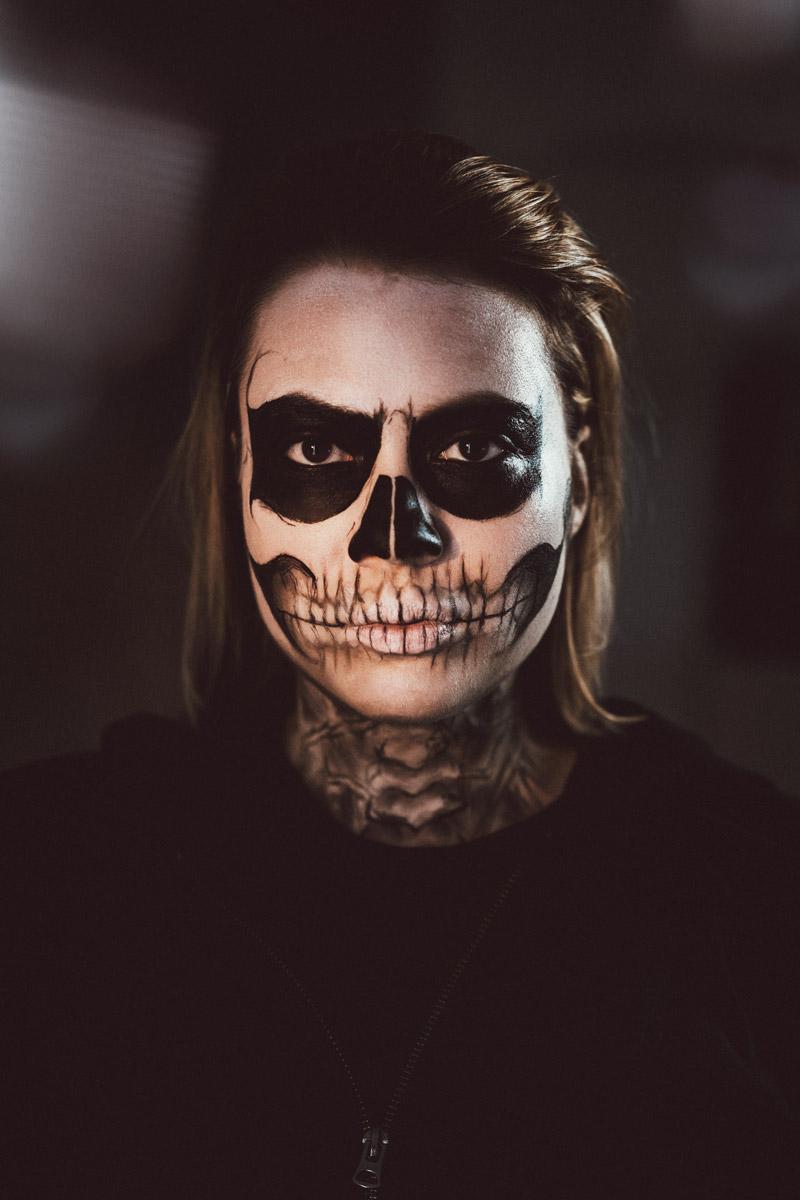 Beauty Last Minute Halloween Makeup 12mal12